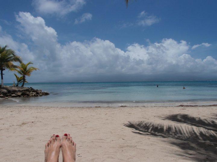 plaja exotica le gosier beach bar
